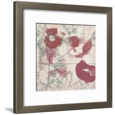 Floral Flutter II-Jennifer Goldberger-Framed Art Print