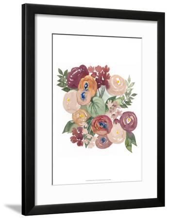 Pirouette Posy I-Grace Popp-Framed Art Print