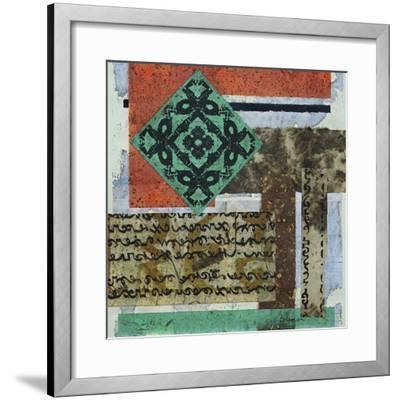 Terra Assemblage II-Heidi Coleman-Framed Giclee Print