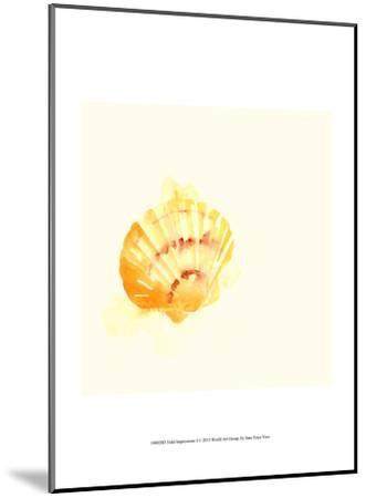 Tidal Impressions I-June Vess-Mounted Art Print