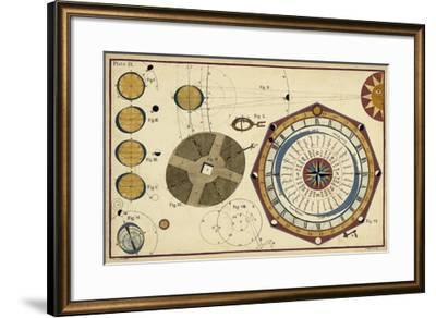 Tides as the Earth Turns-James Ferguson-Framed Giclee Print
