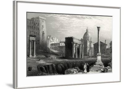Antique View of Rome-Unknown-Framed Giclee Print