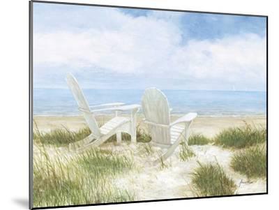 Beach Chairs-Arnie Fisk-Mounted Giclee Print