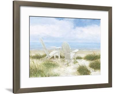Beach Chairs-Arnie Fisk-Framed Giclee Print