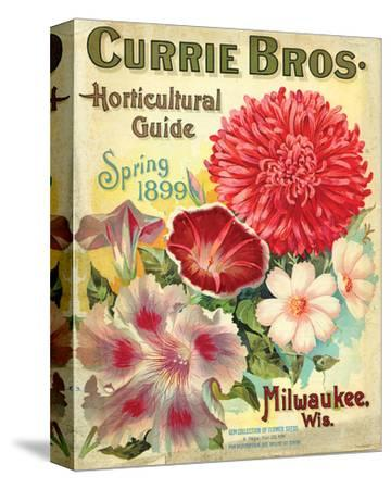 Currie Milwaukee Hortic. Guide--Stretched Canvas Print