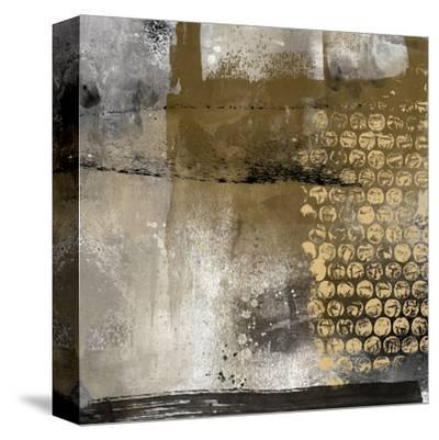 Golden Pieces-Lucy Cloud-Stretched Canvas Print