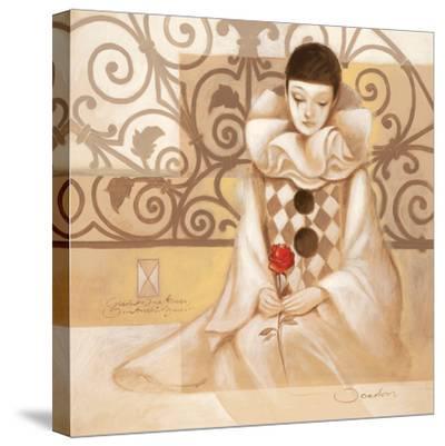 Harlekin Rose-Joadoor-Stretched Canvas Print