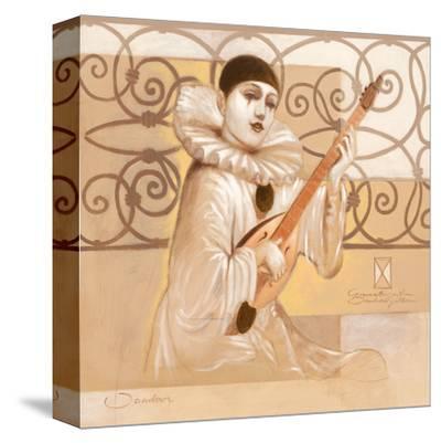 Harlekin Song-Joadoor-Stretched Canvas Print