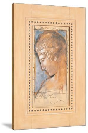 Kassandra Portrait-Joadoor-Stretched Canvas Print