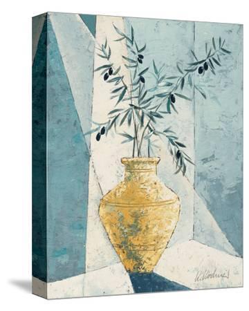 Olive Tree Branches-Karsten Kirchner-Stretched Canvas Print
