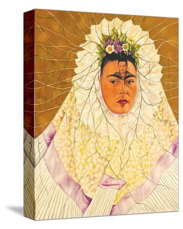 Portrait As Tehuana 1943-Frida Kahlo-Stretched Canvas Print