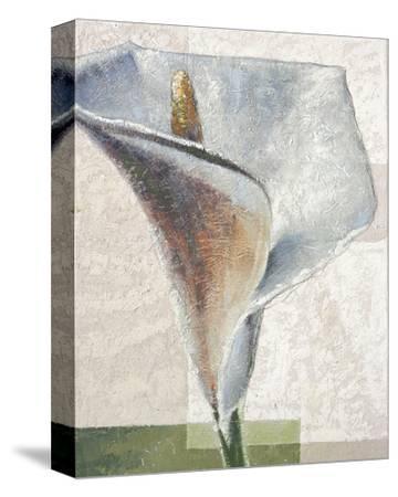 Standing White-Karsten Kirchner-Stretched Canvas Print