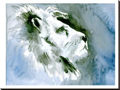 Lion Portrait-Suren Nersisyan-Stretched Canvas Print