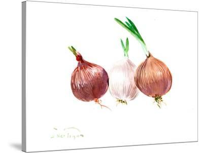Onions 2-Suren Nersisyan-Stretched Canvas Print