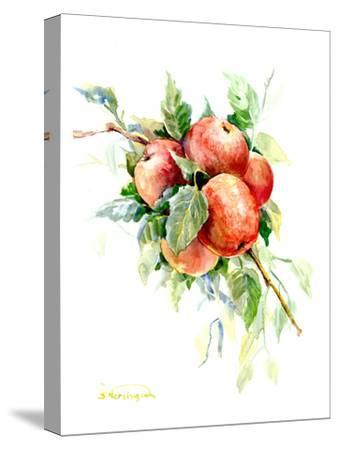 Red Apples 1-Suren Nersisyan-Stretched Canvas Print