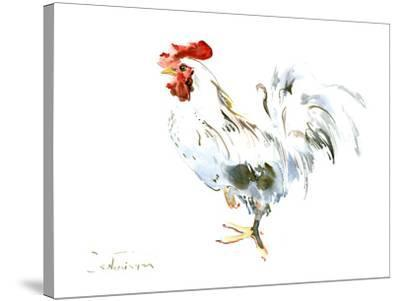 Rooster Kitchen 2-Suren Nersisyan-Stretched Canvas Print
