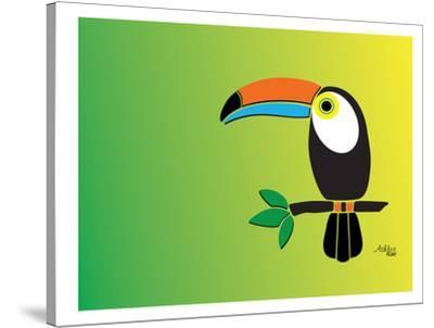 Toucan-Ashlee Rae-Stretched Canvas Print