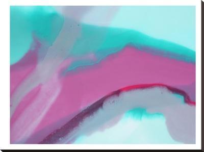 Up Close & Pink-Deb McNaughton-Stretched Canvas Print
