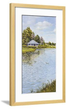 Waters Edge-Hilary Armstrong-Framed Giclee Print