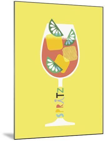Stylish Cocktails - Spritz-Sophie Ledesma-Mounted Giclee Print