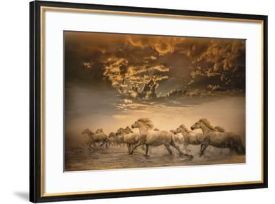 Flying Manes-Bobbie Goodrich-Framed Giclee Print