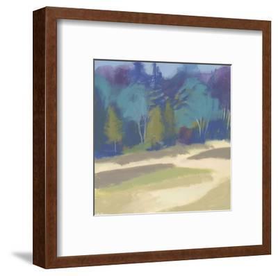 Coastal Dunes II-Cathe Hendrick-Framed Art Print