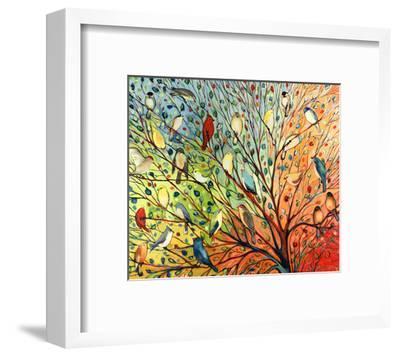 27 Birds-Jennifer Lommers-Framed Art Print