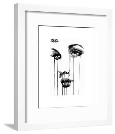 Untitled Face #4-Loui Jover-Framed Art Print