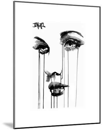 Untitled Face #4-Loui Jover-Mounted Art Print