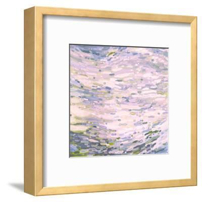 Rose Quartz Reflections-Margaret Juul-Framed Art Print