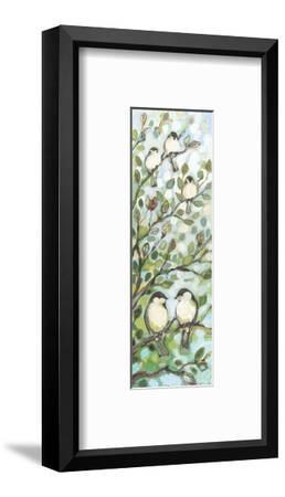 Mo's Chickadees-Jennifer Lommers-Framed Art Print