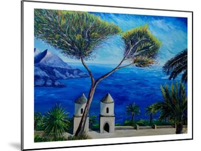 Amalfi Coast Ii-M Bleichner-Mounted Art Print