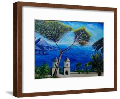 Amalfi Coast Ii-M Bleichner-Framed Art Print
