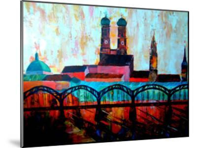 Munchen Central station-M Bleichner-Mounted Art Print
