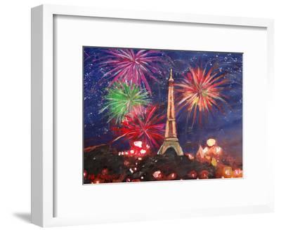 Paris Silvester-M Bleichner-Framed Art Print