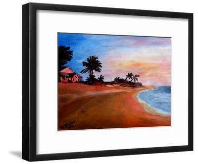 Varadero 2-M Bleichner-Framed Art Print