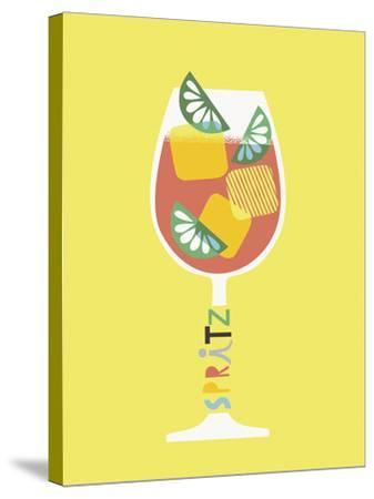 Stylish Cocktails - Spritz-Sophie Ledesma-Stretched Canvas Print