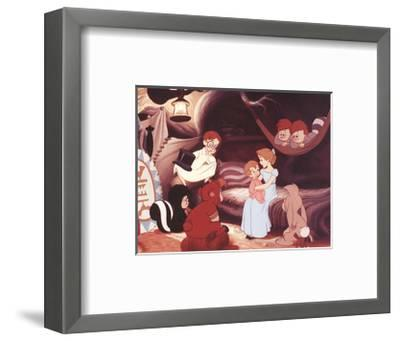 Walt Disney's Peter Pan: Wendy Sings a Lullaby-Unknown-Framed Art Print