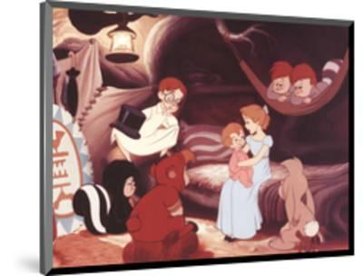 Walt Disney's Peter Pan: Wendy Sings a Lullaby-Unknown-Mounted Art Print