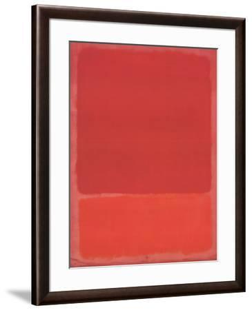 Red (Orange)-Mark Rothko-Framed Art Print