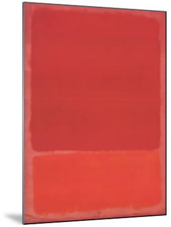 Red (Orange)-Mark Rothko-Mounted Art Print