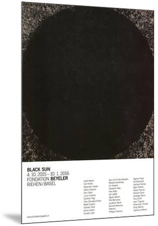 Cheever-Richard Serra-Mounted Art Print