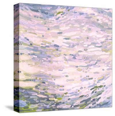 Rose Quartz Reflections-Margaret Juul-Stretched Canvas Print