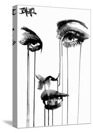 Untitled Face #4-Loui Jover-Stretched Canvas Print