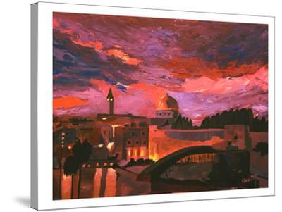Jerusalem 2-M Bleichner-Stretched Canvas Print