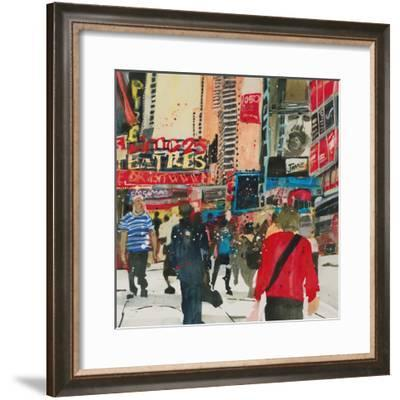 Being Part - New York-Susan Brown-Framed Giclee Print