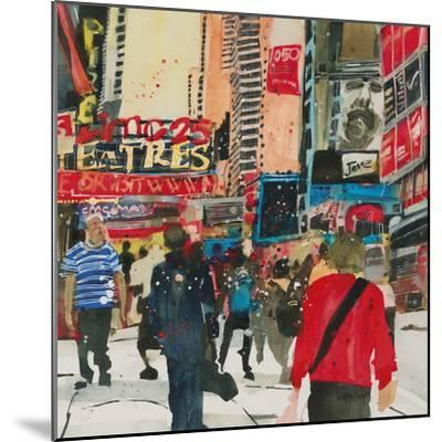 Being Part - New York-Susan Brown-Mounted Giclee Print
