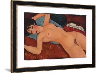 Nu Couche-Amedeo Modigliani-Framed Giclee Print