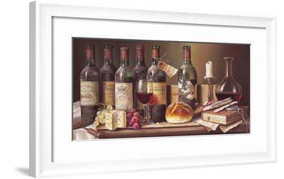 Tasting Clarets-Raymond Campbell-Framed Giclee Print