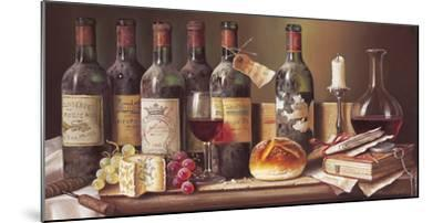 Tasting Clarets-Raymond Campbell-Mounted Giclee Print